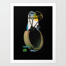 Pipeline / Plain Art Print