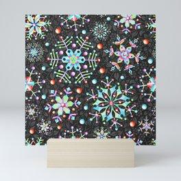 Snowflake Filigree Mini Art Print