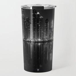 City of glass and steel Travel Mug