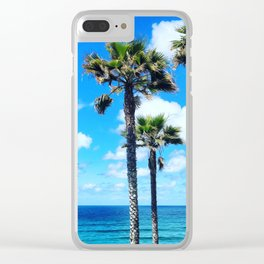 This is California Clear iPhone Case