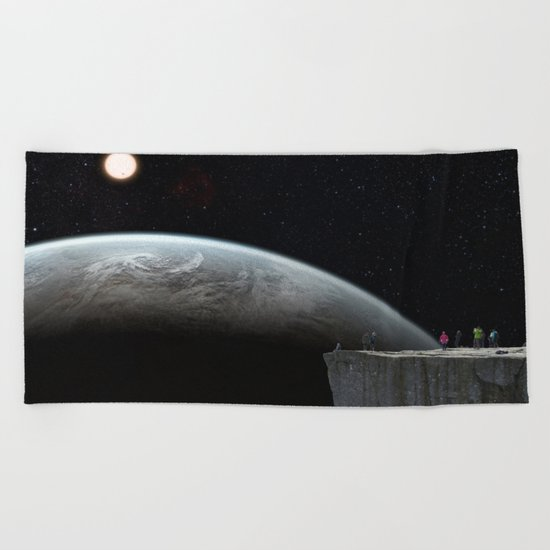 Galactic Adventure Beach Towel