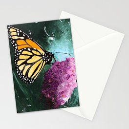 Butterfly - Soft Awakening - by LiliFlore Stationery Cards