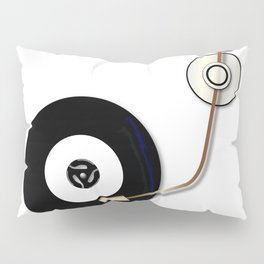 Record And Arm Pillow Sham