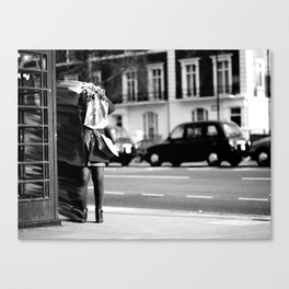 Part 1 - Representation of Existentialism & The Human Condition Canvas Print