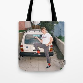 Mac Demarco Italian Meme Tote Bag