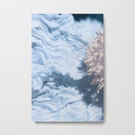 Blue Texture I Metal Print