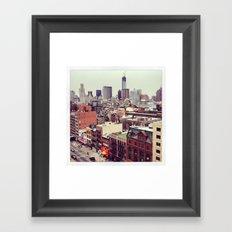 NYC View Framed Art Print