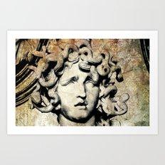 Medusa Art Print