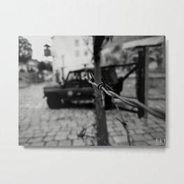 Military Car Metal Print