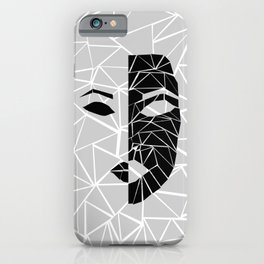 Face White iPhone Case