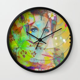 Twiggy Pop Wall Clock