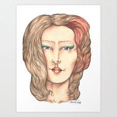 Miyoko  Art Print