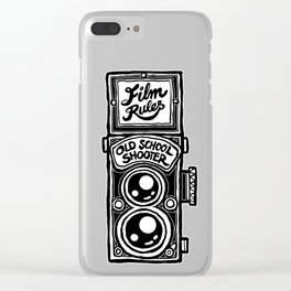 Analog Film Camera Medium Format Photography Shooter Clear iPhone Case