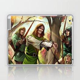 Robin Hood and his Merry Women Laptop & iPad Skin
