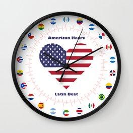 One Heartbeat Wall Clock
