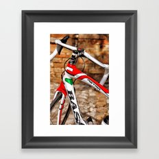 Bike 2 Framed Art Print