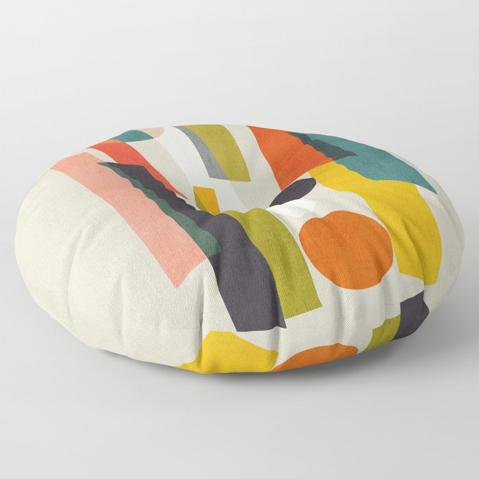 Sticks and Stones Floor Pillow