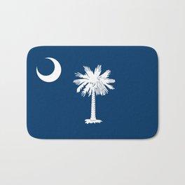 State flag of South Carolina - Authentic version Bath Mat