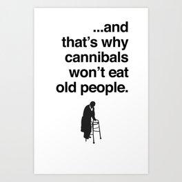 Cannibals Art Print