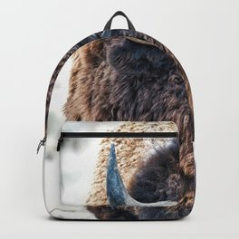Bison the Mighty Beast Backpack