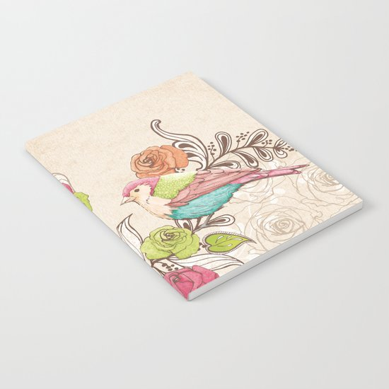 Country Garden Notebook