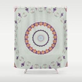 Hawaiian Diamond Header Mandala 3 Shower Curtain