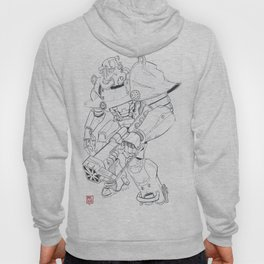 Power suit Hoody
