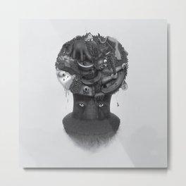 Spectator Metal Print