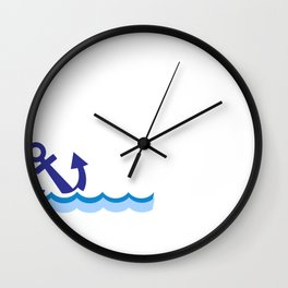 Knock it Off Rhode Island Gina Raimondo Covid 19 Social Distancing Wall Clock