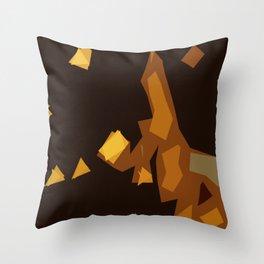 Trainwreck Throw Pillow