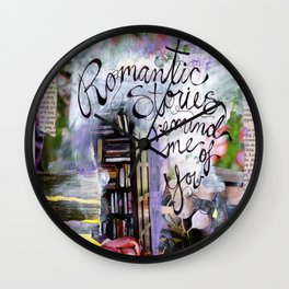 Romantic Stories Wall Clock
