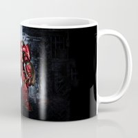 iron man Mugs featuring IRON MAN iron man by alifart