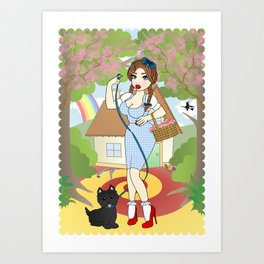 Over The Rainbow Art Print