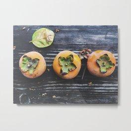 persimmons Metal Print