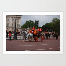 The Royal Carriage 13 Art Print