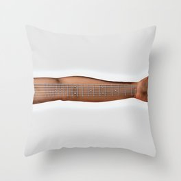 strung Throw Pillow