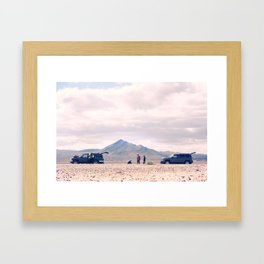 Emergency Picnic Framed Art Print