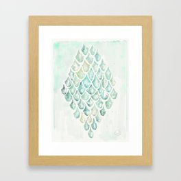 Saltwater Heart Framed Art Print