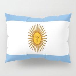 Flag Of Argentina Pillow Sham
