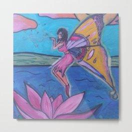 Fay Lotus  Metal Print