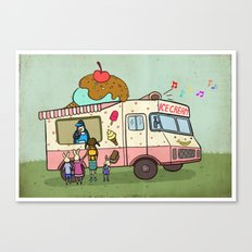 Dream Car Canvas Print