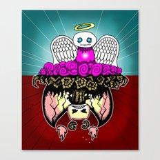Angel and Demon RonkyTonk Canvas Print