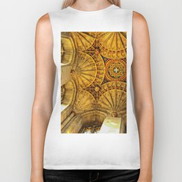 Looking to heaven Biker Tank