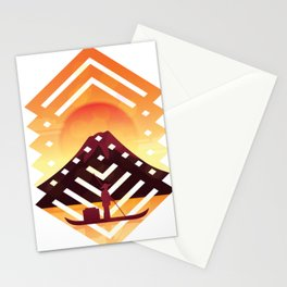 Asian scenery Stationery Cards