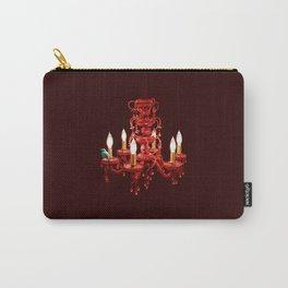 Crimson Perch Carry-All Pouch