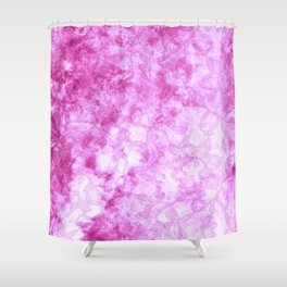 Hot Pink  - JUSTART © Shower Curtain