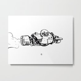 Vroom Vroom! Metal Print