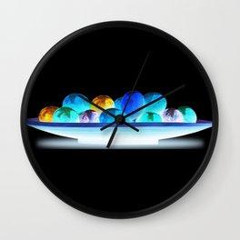 Shiny Eggs Wall Clock