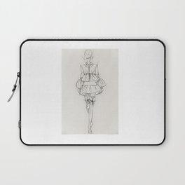 fashion drawing Laptop Sleeve