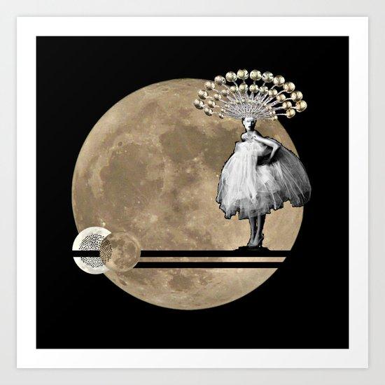 Moon. Child. Art Print